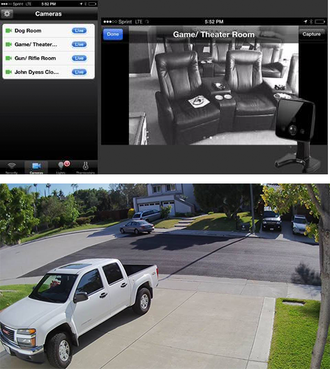 residential video surveillance