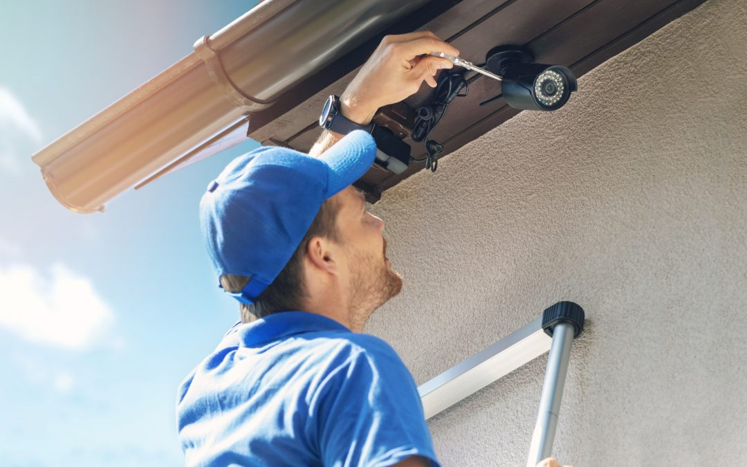 Installing Security Cameras Outside Home